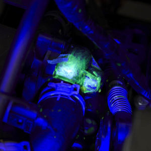 UV Leak detection